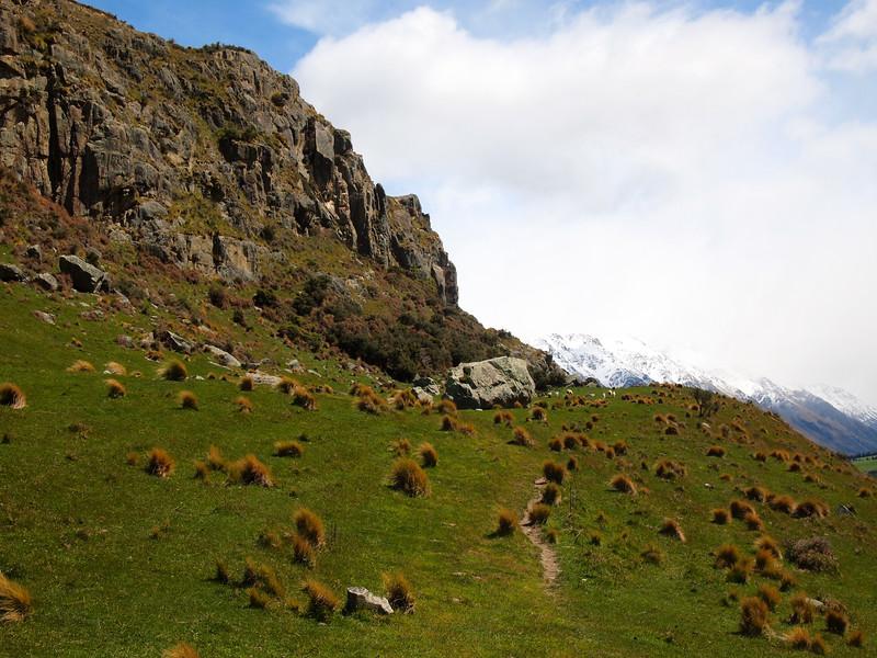Mount Sunday (AKA Edoras) in New Zealand