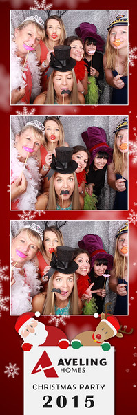 Aveling Homes Christmas Party Photostrips