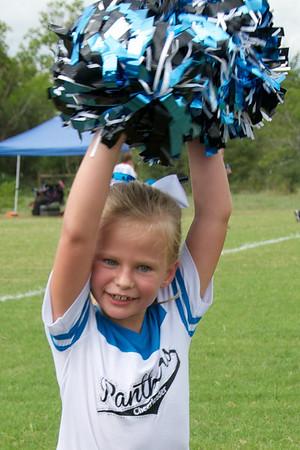 Gabby Cheering 9/2013
