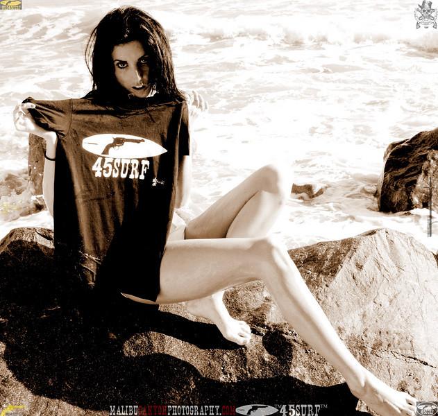 beautiful woman sunset beach swimsuit model 45surf 813.435.3...45