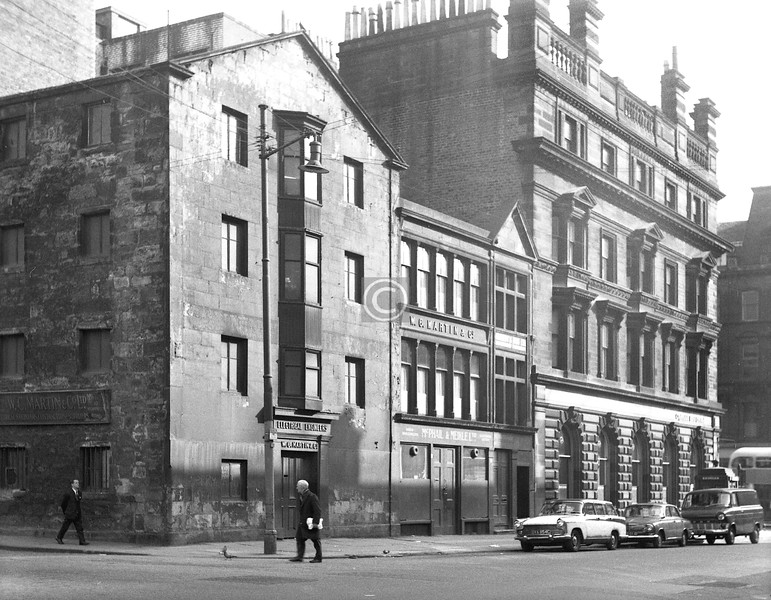 West Campbell St, east side at Holm St. 