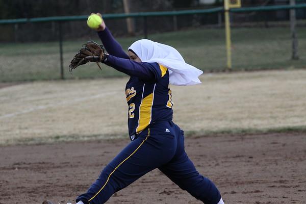 Dearborn Girls Varsity Softball v Fordson