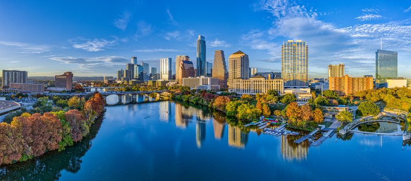 Austin Skyline, Monday, Nov 25, 2019