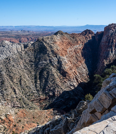 Snow Canyon from Red Mountain trail
