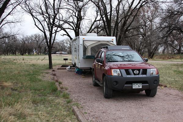 Pawnee Grasslands Camping. May 2009