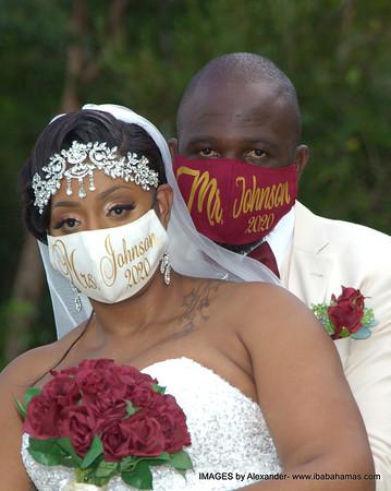 Terelle and Renata's Wedding. Tar Bay. Exuma, Bahamas