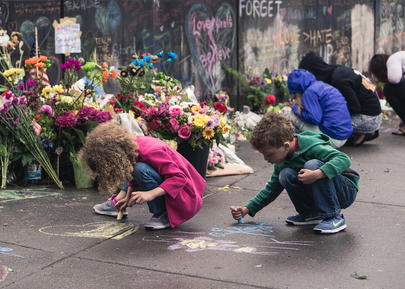 Memorial for Portland Victims of White Supremacist Attack
