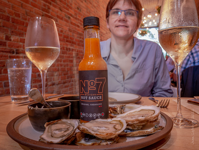 Eastern Oysters and Southern Sauce!