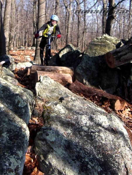 Jim Potts on Macky's Trail