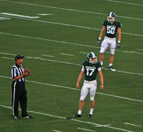 YSU at MSU football 2011