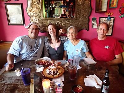 2015 08 27 - Birthday dinner with Macia and Tim