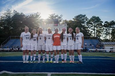Varsity Girls Soccer 9-23
