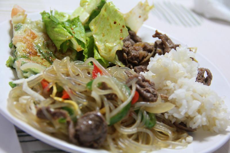 Korean Cooking Class April 27, 2012