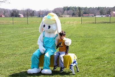 Easter Bunny Bonanza at Seymour Lake Park 2017