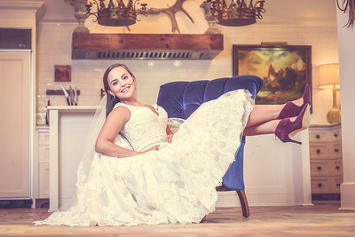 M Formal Bridal Session