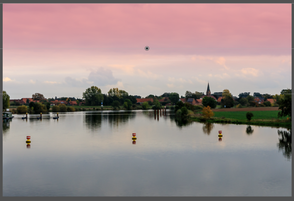 Photo with the Graduated Filter Overlay