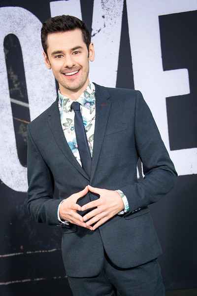 """HOLLYWOOD, CALIFORNIA - SEPTEMBER 28: Brendan Robinson attends the premiere of Warner Bros Pictures """"Joker"""" on Saturday, September 28, 2019 in Hollywood, California. (Photo by Tom Sorensen/Moovieboy Pictures)"""
