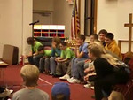 Ohio Bible Quizzers Win the last point at 2007 Regionals