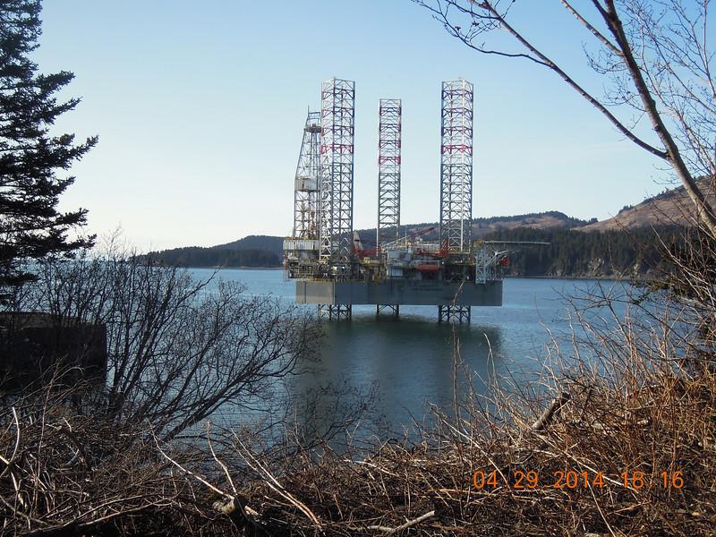 Port Graham, AK- April 2014 Photo by Anne Hanley
