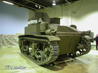 M2 Light Tank - U.S.A.