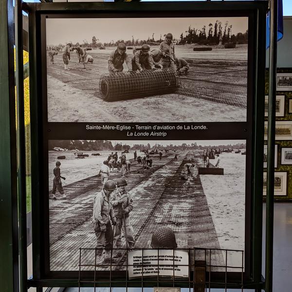 Building airfields, which dad did near Gold Beach