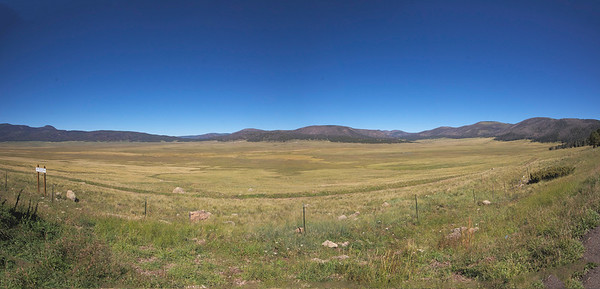 Valle Grande Caldera and Jemez area
