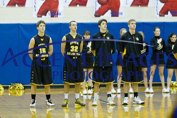 UA Varsity Basketball 1/18/13