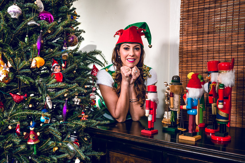 Elf on a Shelf sees all, hears all, and knows all...