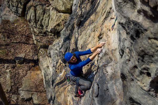 3-5 Climbing Army Rocks