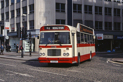 Citybus Belfast Buses and Coaches in the 1990's