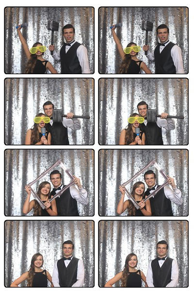 2016: Photo Booth Film Strips from Dette Winter Formal