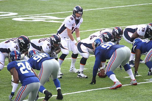 Giants v Broncos 2013