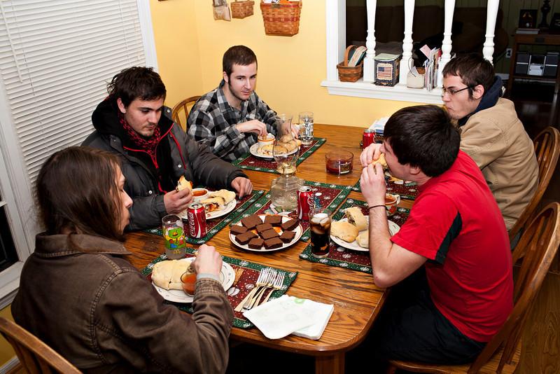 Jan. 22, 2010 dough night.