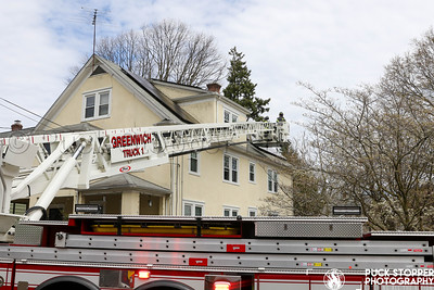 Solar Panel Fire - 17 Livingston Pl, Greenwich, CT - 4/15/20