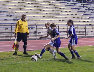 2011 Varsity Girls Soccer vs Bellbrook