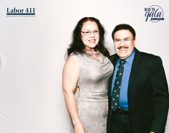 Labor 411 Blue Tie Gala