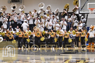 2019-02-04 BAND Pep Band at ICC Game
