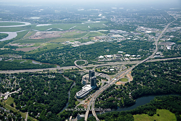 Aerial Photography Exit 9 NJ Turnpike