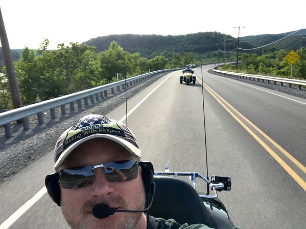 Riding with Dad - 12July18