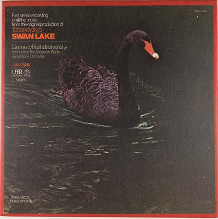 Angel-Melodiya SRC-4106 Swan Lake