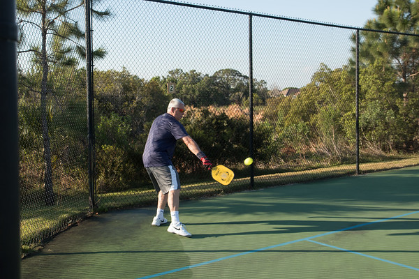 Pickleball: Pictures for Frank Rubman 2018