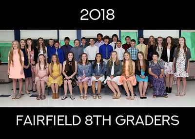 2018 K-8 Class Photos