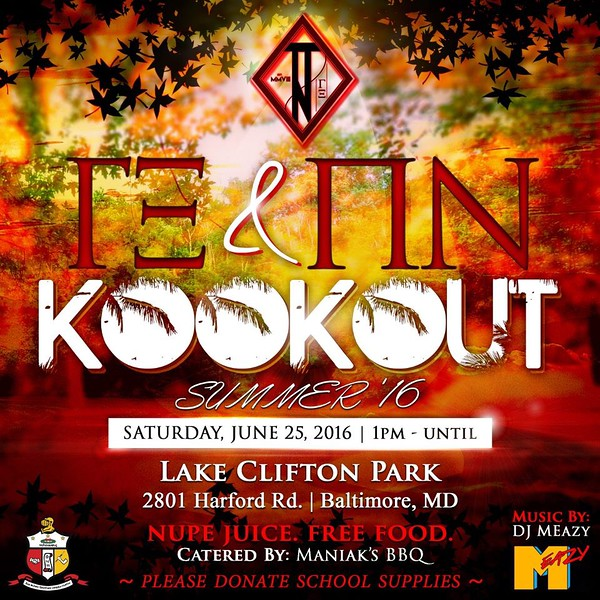 Nupe Summer 16 Kookout