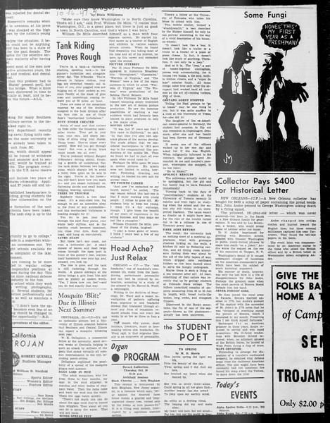 Daily Trojan, Vol. 33, No. 24, October 14, 1941