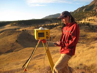 Terrestrial Laser Scanner (TLS) photos: 2008