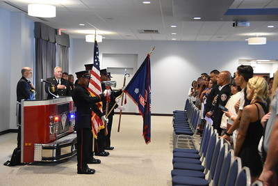 Fire Department hosts promotion ceremony. 7/2/2018
