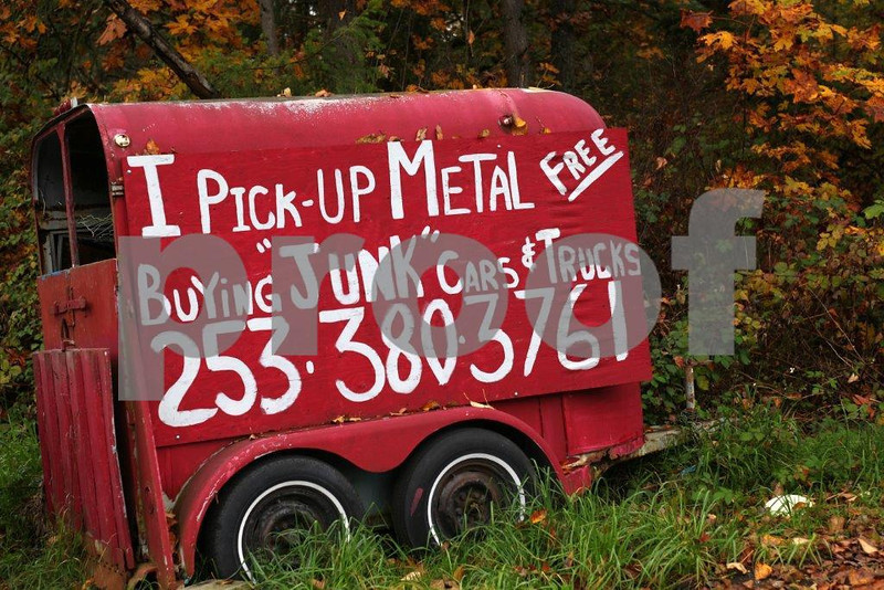 Americans create tons of junk every year and thankfully, someone makes a living recycling our old cars and trucks. WA