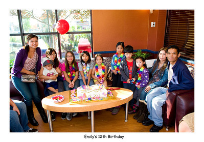 Emily's 12th: November 19, 2011