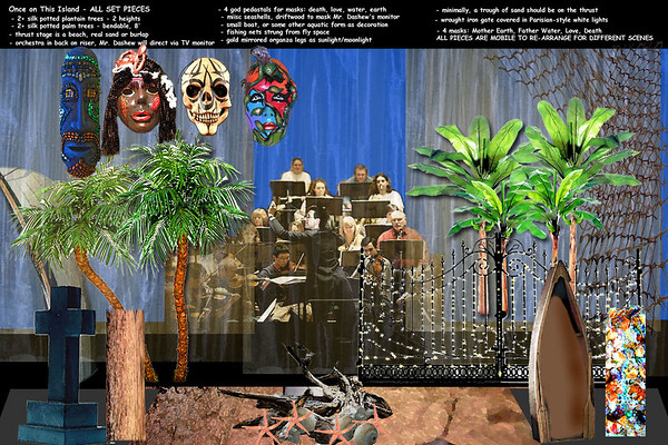 Latest Project - Set Design for Once on This Island