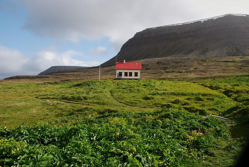 Aðalvík - Staður. Prestbústaðurinn. 2013.